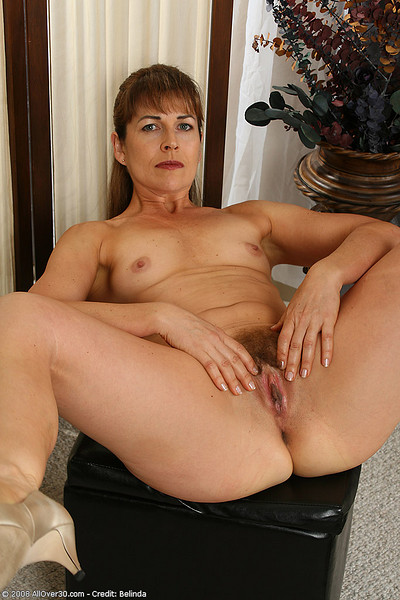 52 year old gilf is back and loves to fuck her dildo - 1 7