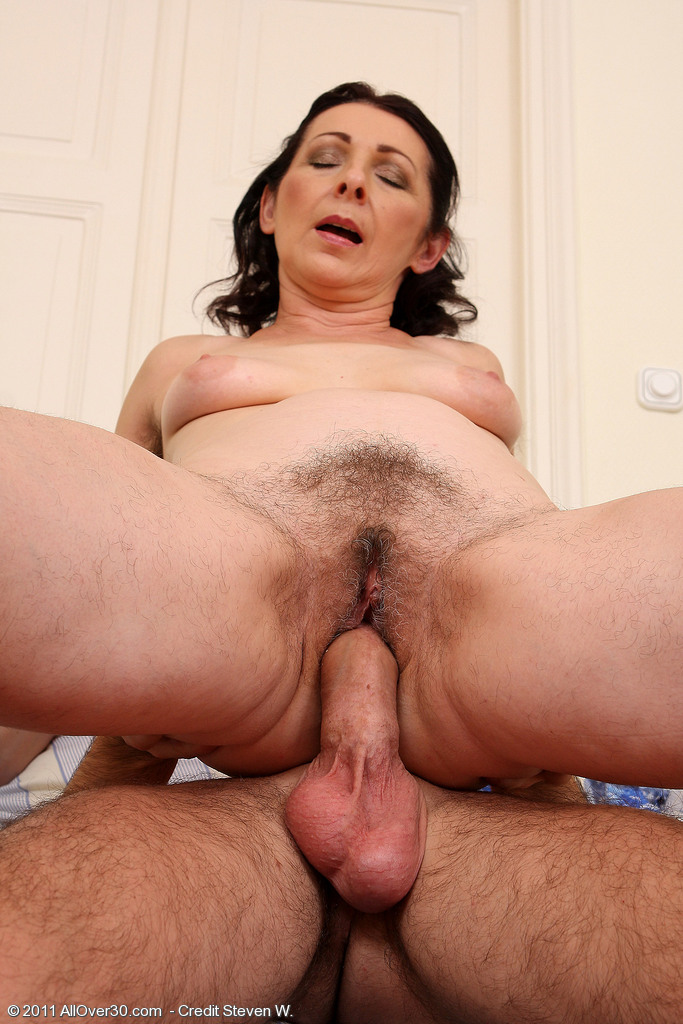 Where 50 year old milf hairy pussy