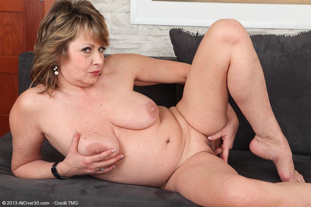 mature milf in satin