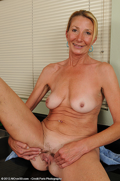 Plump 56 year old gilf fucks bbc - 1 6