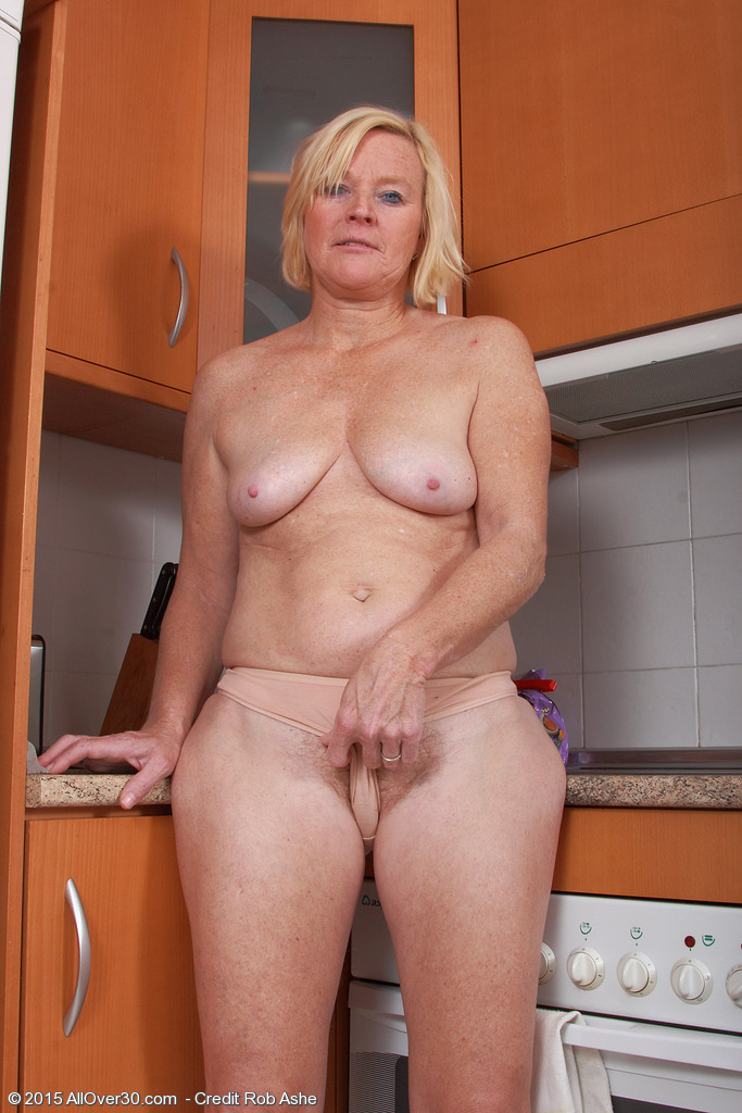 Granny 49 years old love fresh cocks - 2 part 5