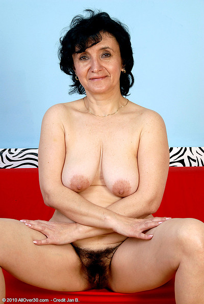 52 year old gilf is back and loves to fuck her dildo - 1 6