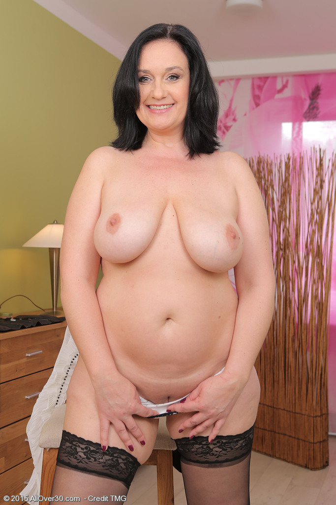 Allover30Freecom- Hot Older Women - 48 Year Old Ria Black -6503